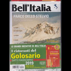 Bell'italia + I ristoranti del Golosario 2019 - Primo volume - n. 394 - febbraio 2019 - mensile - rivista  + libro