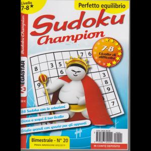 Sudoku Champion - Liv.7-8 - n. 20 - bimestrale - 4/2/2019 -