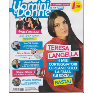 Uomini E Donne Magazine - n. 39 - settimanale - 30 novembre 2018