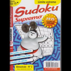 Sudoku supremo - livello 14-15 - n. 2 - bimestrale - 4/2/2019