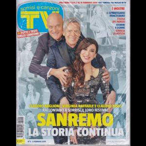 Sorrisi e Canzoni tv - n. 5 - febbraio 2019 - settimanale