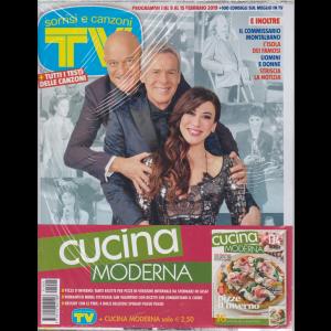 Sorrisi e canzoni tv - + Cucina moderna - settimanale - n. 5 - 2 riviste