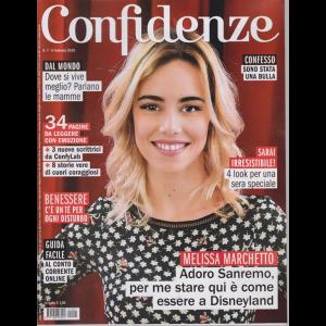 Confidenze - n. 7 - 5 febbraio 2019 - settimanale