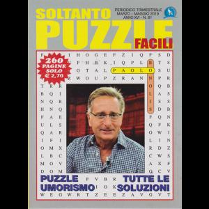 Soltanto Puzzle Facili - n. 61 - trimestrale - marzo - maggio 2019 - 260 pagine - Paolo Bonolis