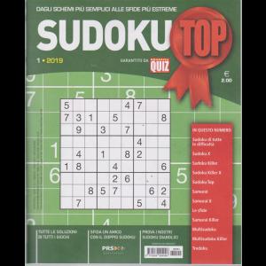 Sudoku Top - n. 1 - trimestrale - febbraio - aprile 2019 -