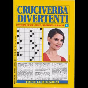 Cruciverba divertenti - bimestrale - marzo - aprile 2019 - n. 101 -