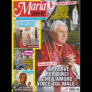 Maria Con Te - n. 6 - 10 febbraio 2019 - settimanale