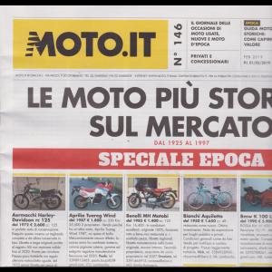 Moto.It - n. 146 - febbraio 2019 - mensile