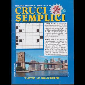 Cruci Semplici - n. 89 - bimestrale - 68 pagine - marzo - aprile 2019