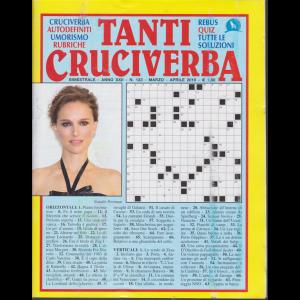 Tanti Cruciverba - n. 123 - bimestrale - marzo - aprile 2019 -