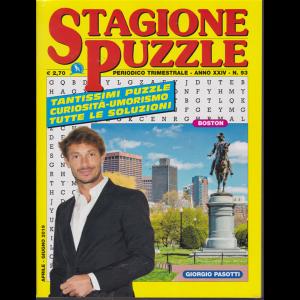 Stagione Puzzle - n. 93 - trimestrale - aprile - giugno 2019 -