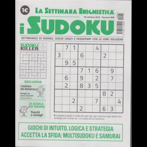 La settimana enigmistica - i sudoku - n. 64 - 10 ottobre 2019 - settimanale