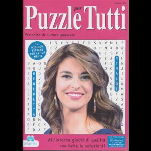 Puzzle X Tutti - n. 101 - bimestrale - 4/3/2019 - Benedetta Rinaldi