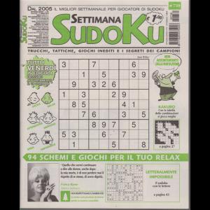 Settimana Sudoku - n. 739 - settimanale - 11 ottobre 2019 -