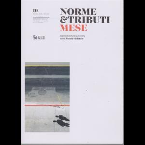 Norme & Tributi Mese - n. 10 - ottobre 2019 - mensile