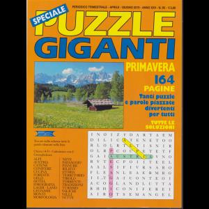Speciale Puzzle Giganti - primavera - n. 95 - trimestrale - aprile - giugno 2019 - 164 pagine