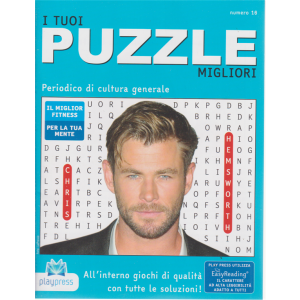 I tuoi puzzle migliori -n. 16 - bimestrale - 5/10/2019-
