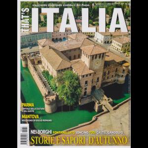 That's Italia - n. 32 - ottobre/novembre 2019 - bimestrale