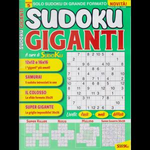 Sudoku Giganti - n. 5 - ottobre 2019 - mensile