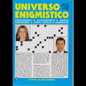 Universo Enigmistico - n. 86 - trimestrale - novembre - gennaio 2019 -