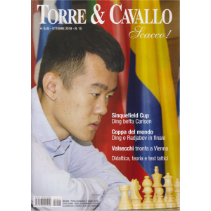 Torre &  Cavallo - Scacco! - n. 10 - ottobre 2019 - mensile