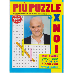 Più puzzle x noi - n. 77 - novembre - gennaio 2020 - 324 pagine