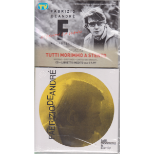 Le raccolte musicali di Sorrisi n. 13 - 15 ottobre 2019 - Fabrizio De Andrè - Tutti morimmo a stento - seconda uscita - cd + libretto inedito