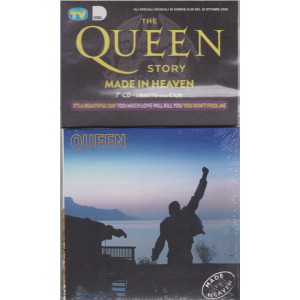Gli speciali musicali di Sorrisi n. 30 - 15 ottobre 2019 - The Queen story - Made in heaven0 - 7° cd + libretto