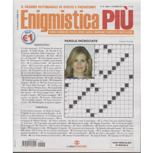 Enigmistica Piu' - n. 42 - 22 ottobre 2019 - settimanale