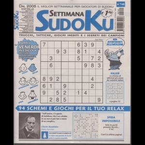 Settimana Sudoku - n. 740 - settimanale - 18 ottobre 2019 -