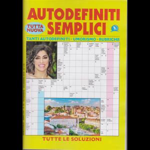 Autodefiniti semplici - n. 95 - bimestrale - novembre - dicembre 2019 -