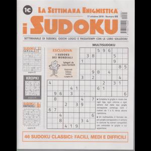 La settimana enigmistica - i sudoku - n. 65 - settimanale - 17 ottobre 2019