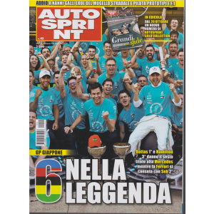 Autosprint - n. 42 - settimanale - 15/21 ottobre 2019
