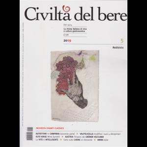 Civilta'  Del Bere -n. 9/10 - bimestrale - settembre -ottobre 2019 -