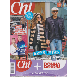 Chi+Donna Moderna -   n. 42 - 16 ottobre 2019 - settimanale - 2 riviste