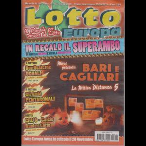 Lotto Europa - n. 10 - mensile - ottobre 2019 -