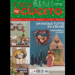 Crea Cucito - n. 112 - ottobre 2019 - mensile