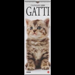 """Calendario 2020 """"Gatti"""" - cm. 15 x 41 con spirale"""