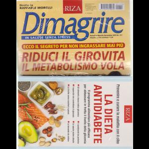 Dimagrire + il libro La dieta antidiabete - n. 211 - mensile - novembre 2019