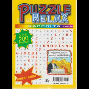 Raccolta I puzzle di relax - n. 96 - trimestrale - ottobre - dicembre 2019 - oltre 200 pagine!