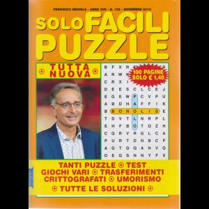 Solo Facili Puzzle - n. 192 - mensile - novembre 2019 - 100 pagine