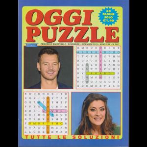 Oggi Puzzle - n. 262 - bimestrale - novembre - dicembre 2019 - 68 pagine