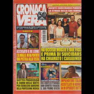 N.Cronaca vera - n. 2460 - 22 ottobre 2019 - settimanale di fatti e attualità