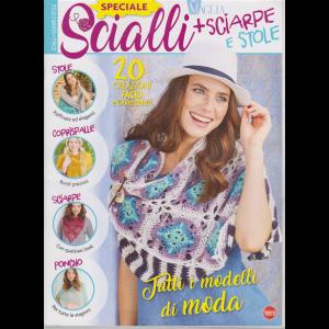 Piu' Maglia Speciale  Accessori - Scialli + sciarpe e stole - n. 3 - bimestrale - novembre - dicembre 2019