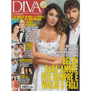 Diva e donna- n. 42 - settimanale femminile - 22 ottobre 2019