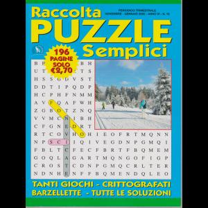 Raccolta Puzzle Semplici - n. 19 - trimestrale - novembre - gennaio 2019 - 196 pagine