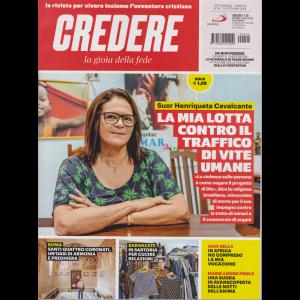 Credere - La Gioia Della Fede  -n. 42 - settimanale - 20 ottobre 2019 -