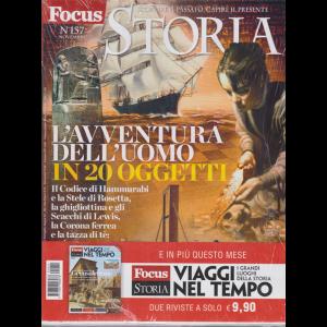 Focus Storia Speciale + Focus Storia Viaggi nel tempo - n. 157 - novembre 2019 - mensile - 2 riviste