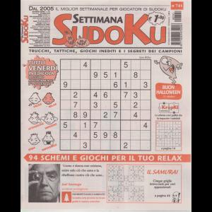 Settimana Sudoku - n. 741 - settimanale - 25 ottobre 2019