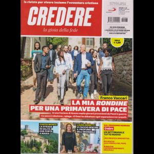 Credere - La Gioia Della Fede - n. 43 - settimanale - 27 ottobre 2019 -